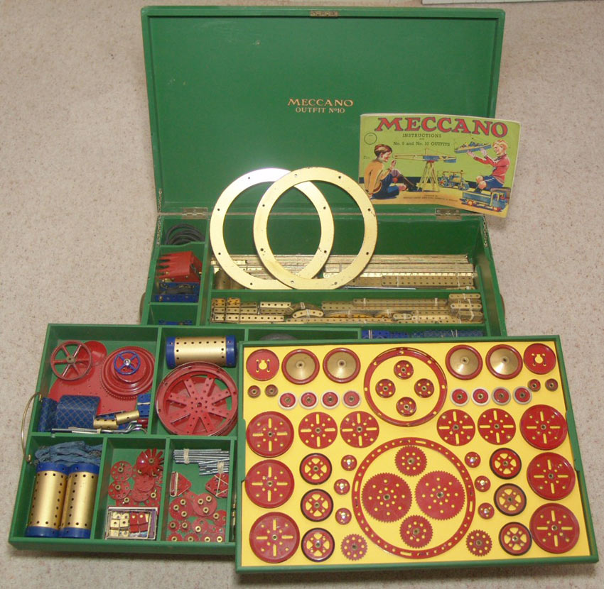 1939 Meccano number 10 outfit