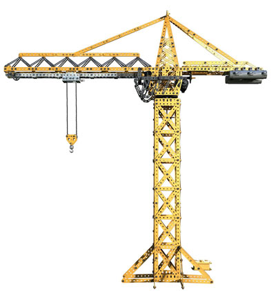 2015 meccano tower crane