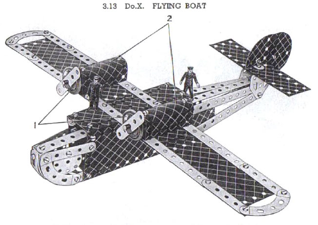 Number 3 manual 1937 D.Ox Flying boat