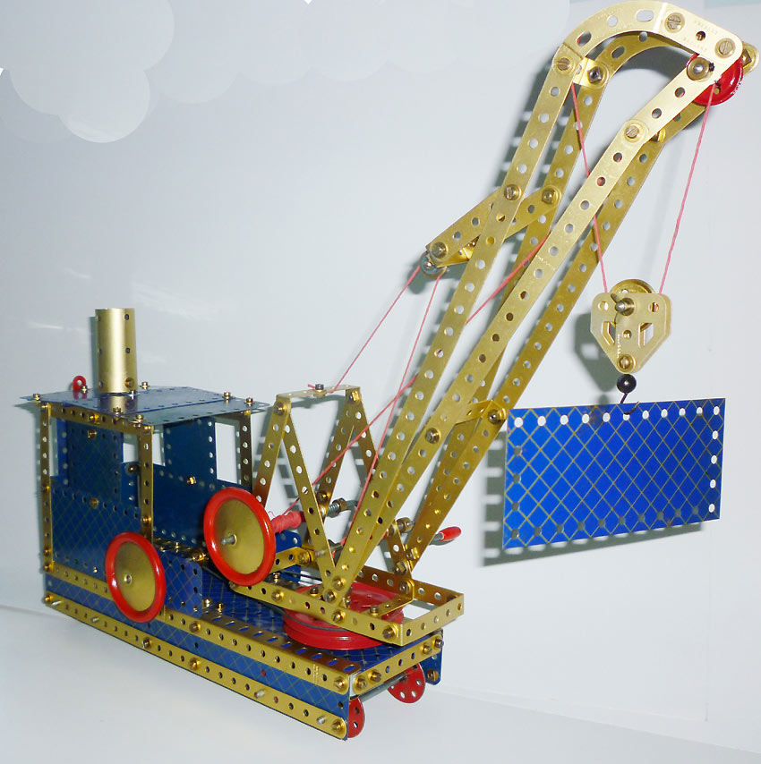 Railway breakdown crane