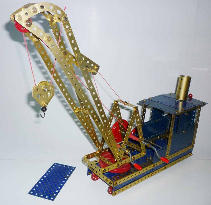 Blue Gold railway Breakdown crane