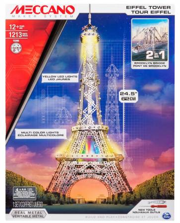 Eiffel Tower packaging