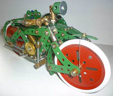 Meccano SML motor cycle