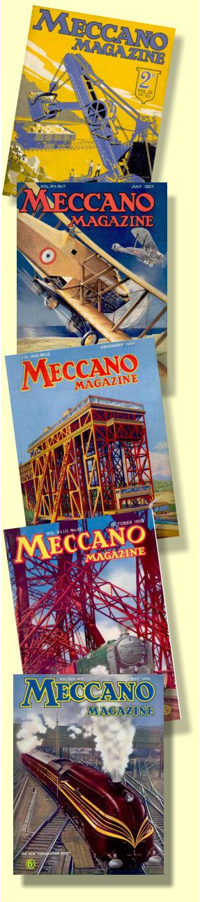 Meccano Magazines side panel
