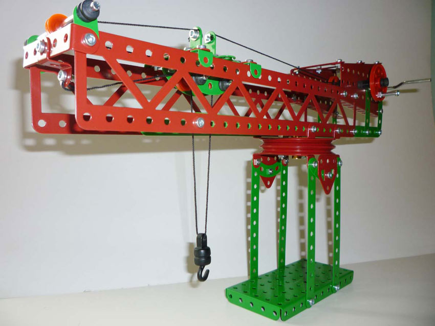 SES Block Setting Crane