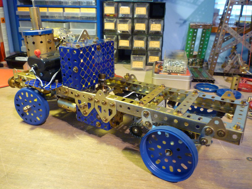 Tipping Steam Wagon chassis