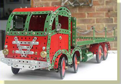 Meccano Foden eight wheeler