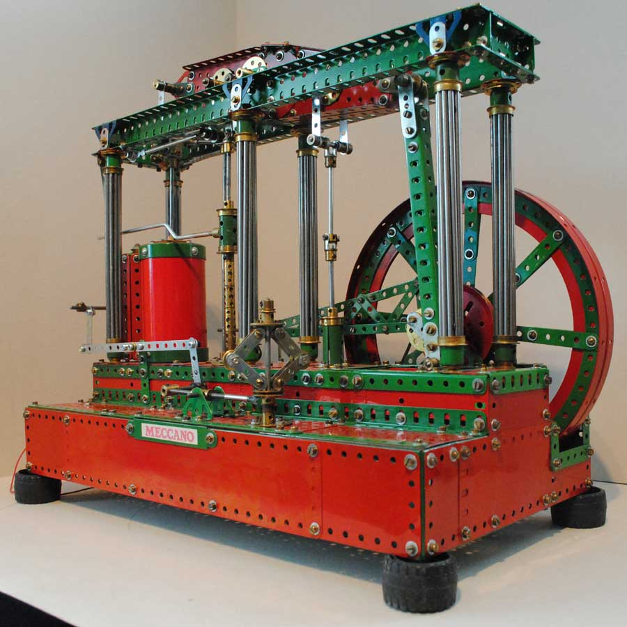 General view of beam engine