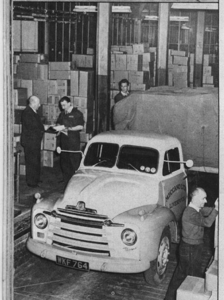 Bedford Truck Meccano Factory